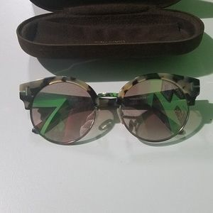 TOM FORD SUNGLASSES ALISSA TF608 56G